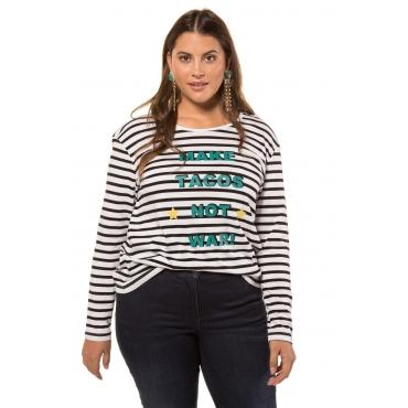 Studio Untold  Shirt Damen Größe 54/56, schwarz, Mode in großen Größen