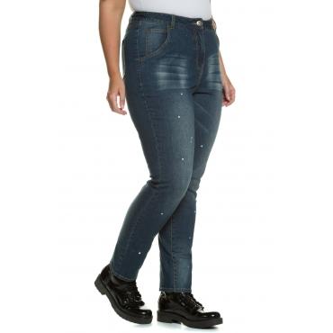 Studio Untold  Skinnyhose Damen Größe 54, darkblue, Mode in großen Größen