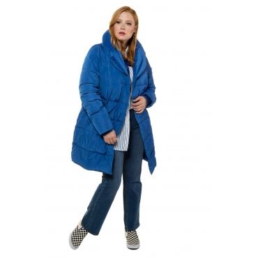 Studio Untold  Steppmantel Damen Größe 54/56, blau, Mode in großen Größen
