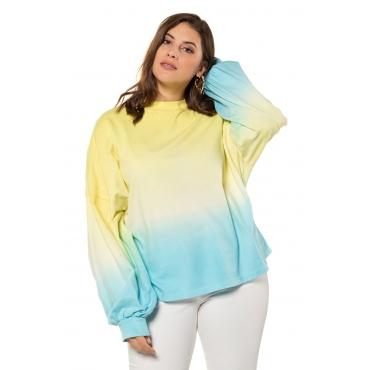Studio Untold Sweatshirt Damen, multicolor, Baumwolle, Mode in großen Größen