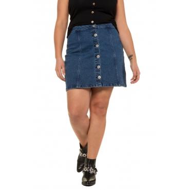 Studio Untold Jeans Rock Damen, blue denim, Mode in großen Größen