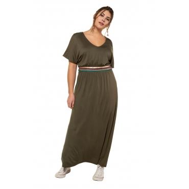 Studio Untold  Jerseykleid Damen Größe 54/56, dunkelkhaki, Viskose, Mode in großen Größen