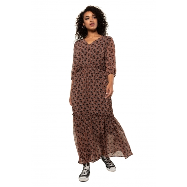 Studio Untold Maxi-Kleid Damen, multicolor, Mode in großen Größen