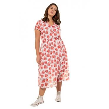 Studio Untold Maxi-Kleid Damen, kirschrot, Mode in großen Größen