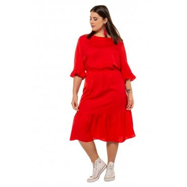 Studio Untold Midi-Kleid Damen, kirschrot, Mode in großen Größen