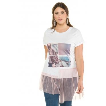 Studio Untold Shirts Damen, weiß, Mode in großen Größen