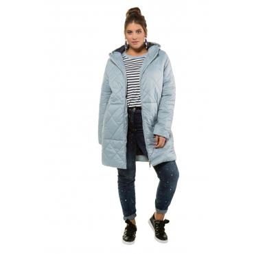 Studio Untold Stepp-Jacke Damen, hellblau/grau, Mode in großen Größen