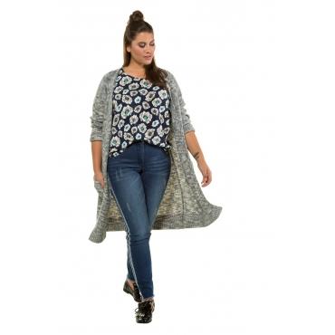 Studio Untold Strick-Jacke Damen, multicolor, Mode in großen Größen