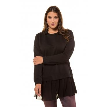 Studio Untold  Sweat-Shirt Damen 54/56, schwarz , Mode in großen Größen