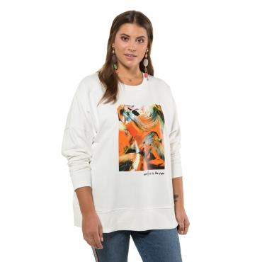 Studio Untold  Sweatshirt Damen 54/56, offwhite, Mode in großen Größen