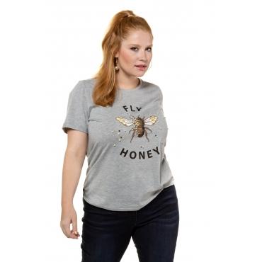 Studio Untold  T-Shirts Damen 54/56, grau-melange, Mode in großen Größen
