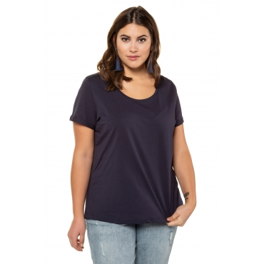 Studio Untold T-Shirts Damen, nachtblau, Mode in großen Größen