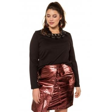 Studio Untold Tshirt Damen, schwarz, Mode in großen Größen