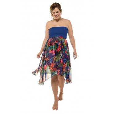 Ulla Popken 2 in 1 Kleid Damen, dunkelblau, Mode in großen Größen