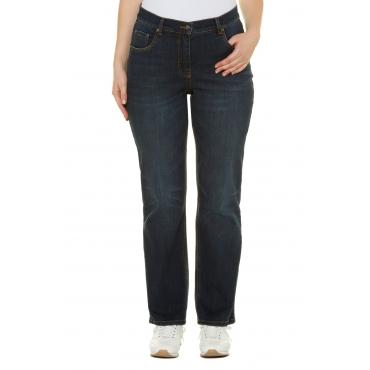 Ulla Popken  Bootcut-Jeans Damen Größe 46, blue denim, Mode in großen Größen