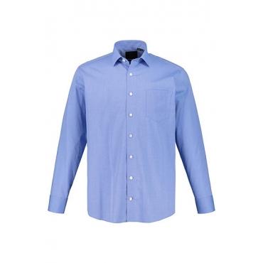 JP1880 Herren  Businesshemd, bügelfrei, bis 8XL, Comfort Fit, hellblau, Gr. XXL, Mode in großen Größen
