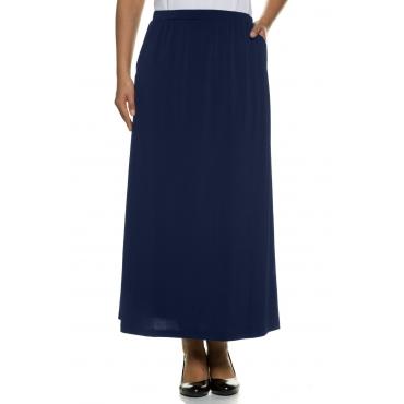Ulla Popken Jersey-Rock Damen, navy, Polyester, Mode in großen Größen