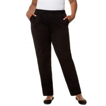 c83a2147aa344d Ulla Popken Jerseyhose Damen Größe 58/60, schwarz, Baumwolle, Mode in großen