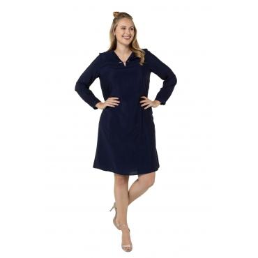 Ulla Popken  Kleid Damen Größe 58/60, marine, Mode in großen Größen