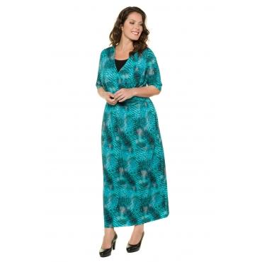 Ulla Popken  Kleid Damen 50/52, multicolor, Viskose, Mode in großen Größen