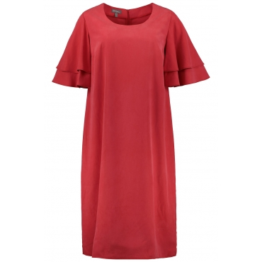 Ulla Popken  Kleid Damen Größe 58/60, tomatenrot, Mode in großen Größen