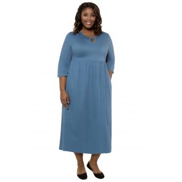 Kleid 5456PetrolBaumwolleMode In Größen Damen Popken Großen Ulla LpGzMqVSU