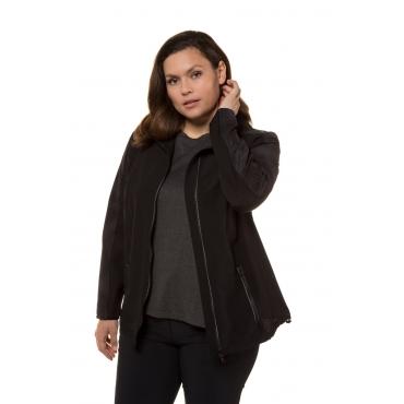 Ulla Popken  Laufjacke Damen Größe 58/60, schwarz, Mode in großen Größen