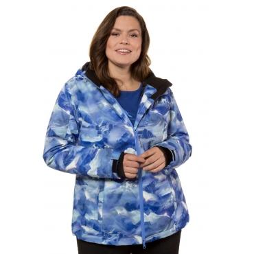 Ulla Popken Skijacke Damen, multicolor, Polyester, Mode in großen Größen