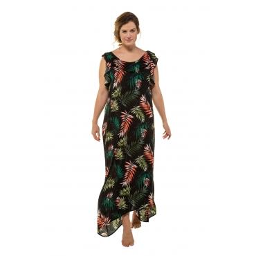 2acbcd2efc5db2 Ulla Popken Strandkleid Damen 58/60, schwarz, Viskose, Mode in großen Größen