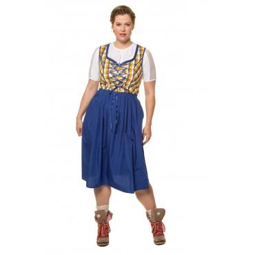 Ulla Popken Dirndlkleid Damen, multicolor, Mode in großen Größen