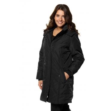 Ulla Popken  Jacke Damen 58/60, schwarz, Polyester, Mode in großen Größen