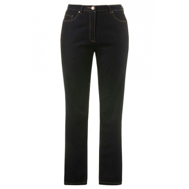 Ulla Popken  Jeans Regular Fit Strech, Mandy, Blau, Gr. 44,46,42,48,50,52,54,56,58,60,62,64