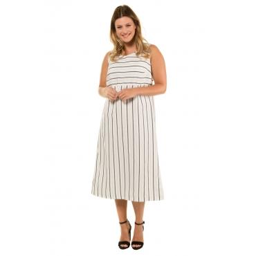 f1bc88810aa2 Ulla Popken Kleid Damen Größe 60, offwhite, Leinen, Mode in großen Größen