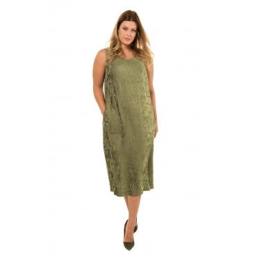Ulla Popken  Kleid Damen Größe 52, moos, Mode in großen Größen