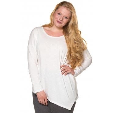 Ulla Popken Shirts Damen, offwhite, Mode in großen Größen