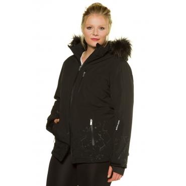 Ulla Popken  Skijacke Damen 58/60, schwarz, Polyester, Mode in großen Größen