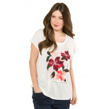 Ulla Popken T-Shirts Damen, multicolor, Mode in großen Größen